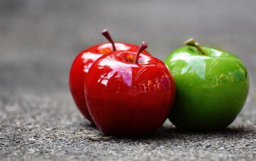 Remember- always compare apples and apples